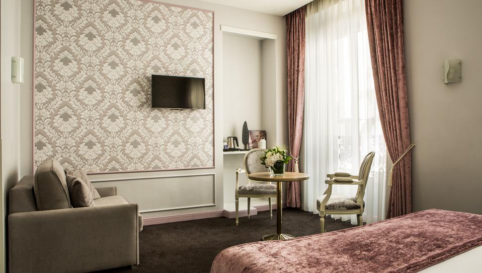 Hôtel Saint Petersbourg - Chambre