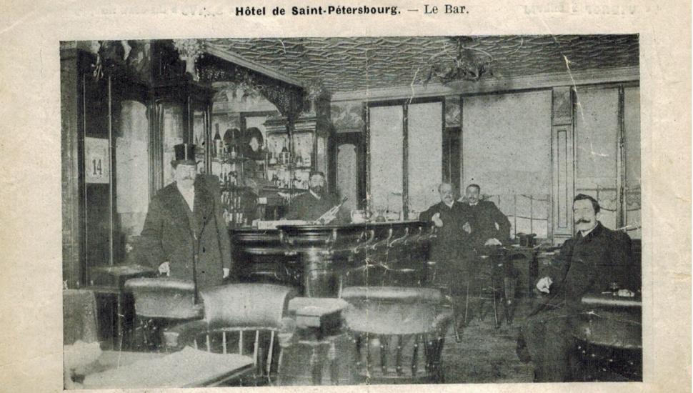 Hôtel Saint Petersbourg - Histoire